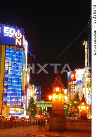 Manji Bridge and Akihabara Electric Town 12386343