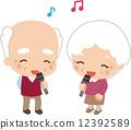 Chanting, sing, karaoke 12392589