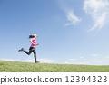 奔跑 人類 人物 12394323