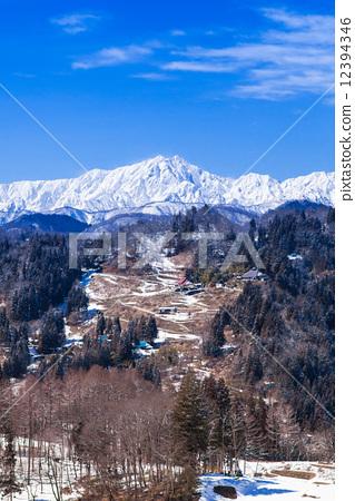 A village where the Alps can be seen - Kashima Atsugatake 12394346