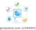icon, symbol, social 12394943