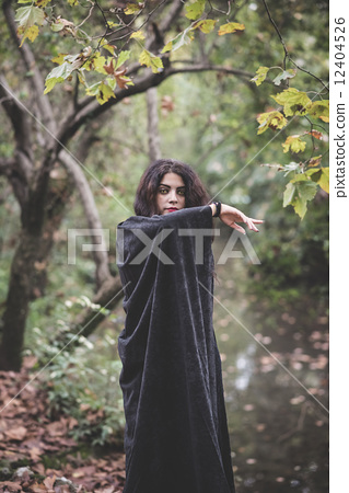 witch, vampire, woman 12404526
