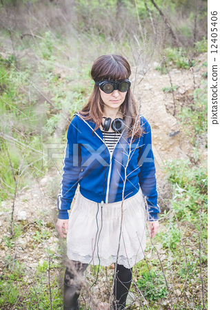 authentic, hipster, woman 12405406