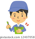 staff, vector, vectors 12407058