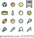 ping, pong, softball 12410370