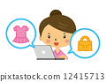 online, shopping, internet 12415713