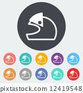 Motorcycle Helmets 12419548