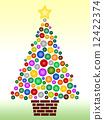 樹 插圖 插畫 12422374