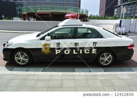 Police car of the Metropolitan Police Department 12422830