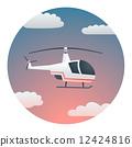 Helicopter Detailed Illustration 12424816