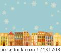 condo, condominium, row of houses 12431708