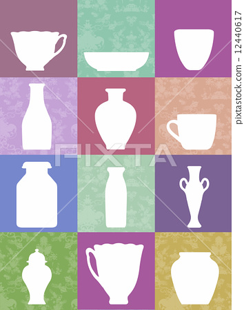 Variety of pottery · Western style image 12440617