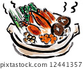 蟹肉火鍋 12441357