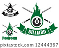 cue, icon, billiard 12444397