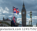 Union Jack and Parliament 12457592