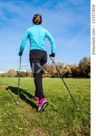 Nordic walking 12457808