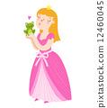 王子 公主 青蛙 12460045