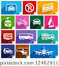 Transport flat icon, bright color-06 12462911