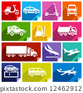 Transport flat icon, bright color-05 12462912