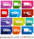 Transport flat icon, bright color-03 12462914