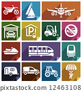 Transport flat icon-08 12463108
