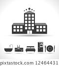 Five stars hotel concept 12464431