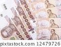 debt, baht, thailand 12479726