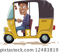 Asian Rickshaw 12483819