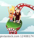 roller-coaster 12488174