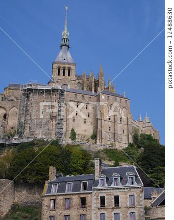 Stock Photo: mont st michel, europe, travel
