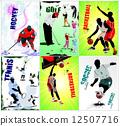 網球 足球 球 12507716