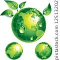 green, planet, globe 12513202