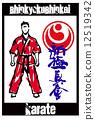 fight karate fighter 12519342