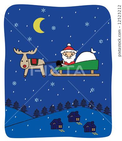 Christmas night 12523212