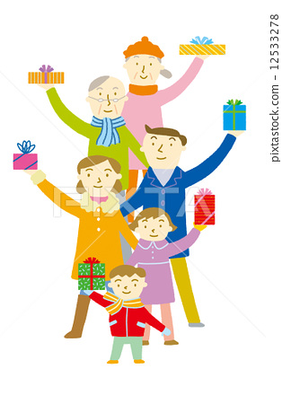Family and gifts 12533278