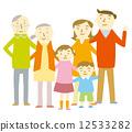 家庭一家 12533282