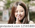微笑 夫人 雌 12565889