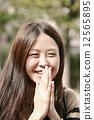 微笑 笑脸 笑容 12565895