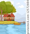 Lakeside Cabin 12572664