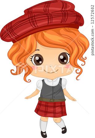 Scottish Girl 12572682
