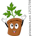Parsley Mascot 12572709