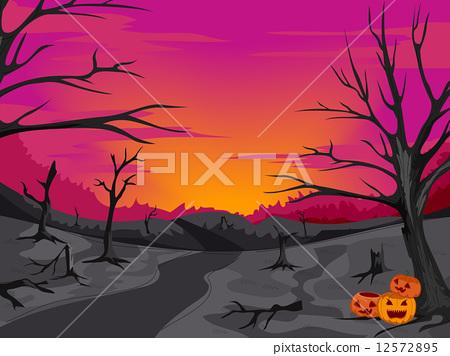 Creepy Woods Path 12572895