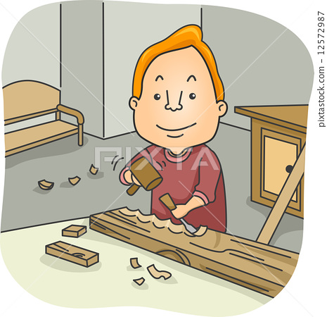 Wood Carver 12572987