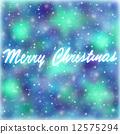 Merry Christmas greeting card 12575294