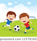Soccer boys 12578160