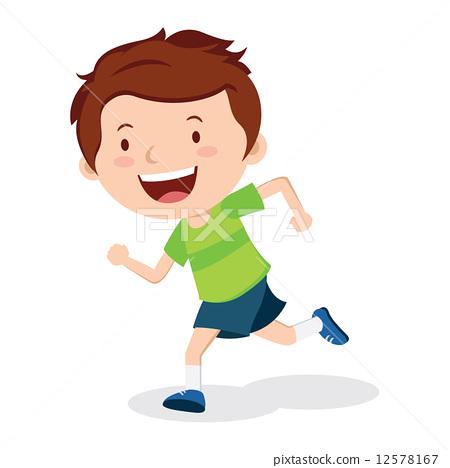 Boy running 12578167