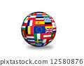 Europian union   countries Flags 12580876