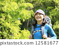 등산, 등산녀, 여성 12581677
