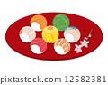手鞠寿司 寿司团 寿司 12582381