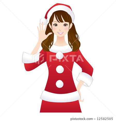 Christmas women Santa 12582505